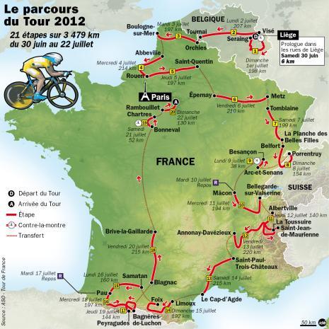Image d'illustration pour Cyclisme : prévisions météo pour le prologue du Tour de France