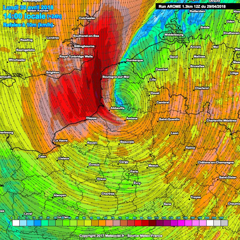 Image d'illustration pour Dépression Quitta : tempête, fortes pluies et froid près de la Manche