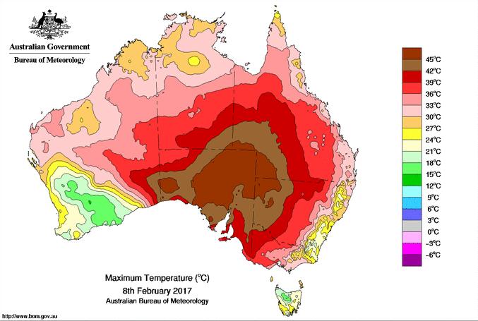 Image d'illustration pour Canicule remarquable en Australie