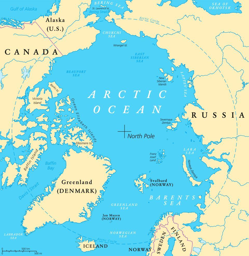 Image d'illustration pour Est-il exceptionnel de voir de la chaleur dans les régions polaires?
