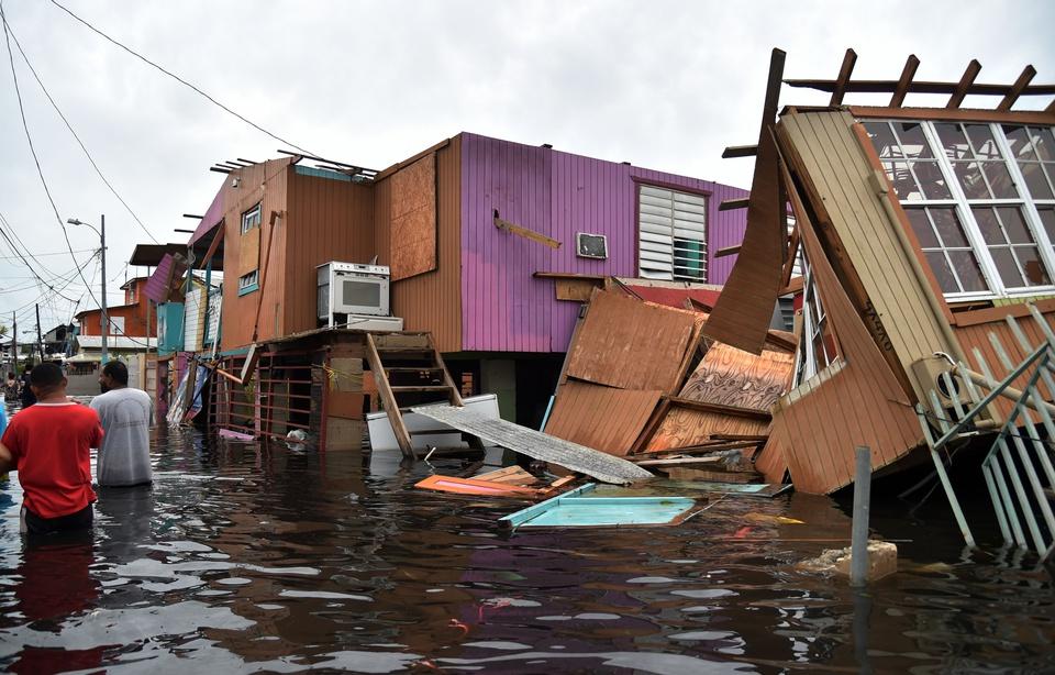 Image d'illustration pour Bilan de l'ouragan Maria entre Antilles et Porto-Rico