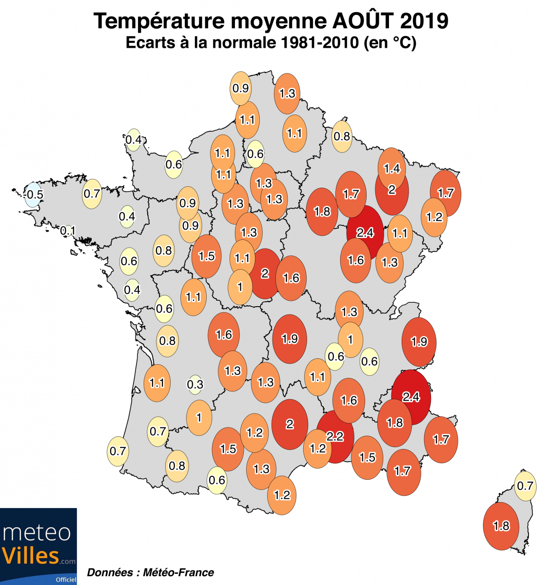 Image d'illustration pour Bilan national cartographié d'août 2019