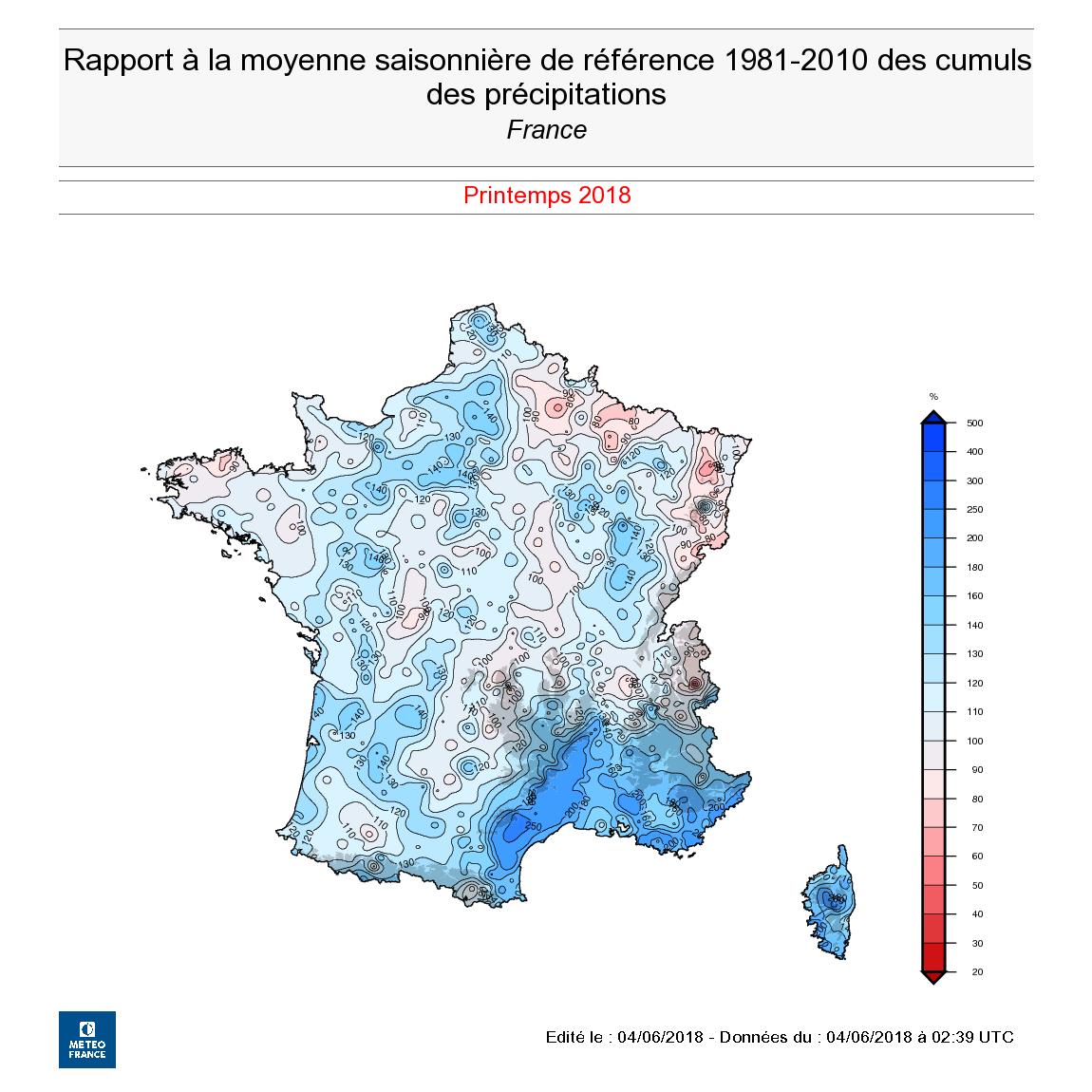 Image d'illustration pour Chaud et humide : le bilan du printemps 2018