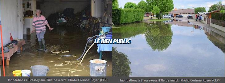 Image d'illustration pour Ouche, Armançon, Serein, Marne et Seine : Le point sur les crues