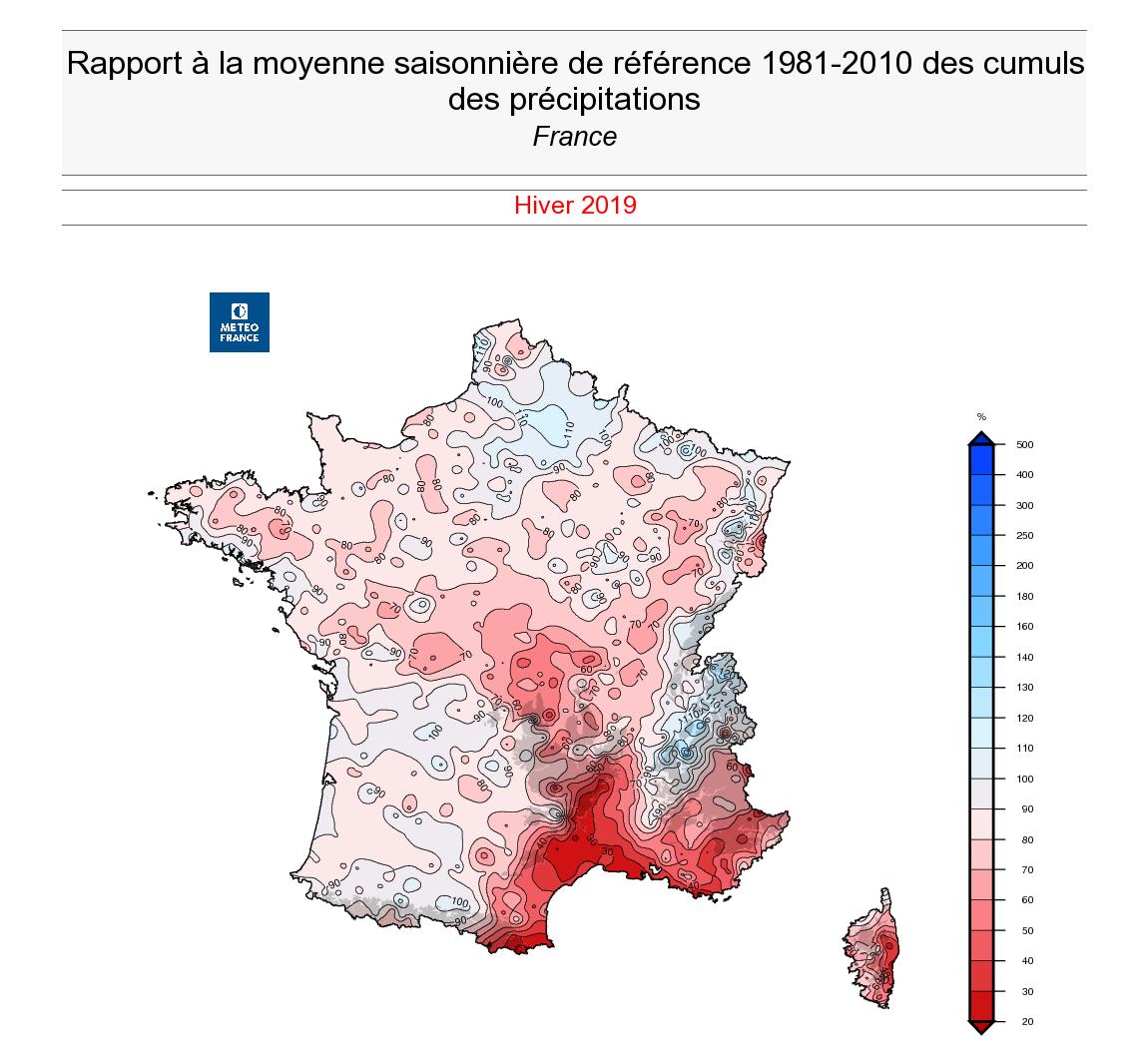Image d'illustration pour Un hiver 2018/2019 particulièrement doux : le bilan détaillé
