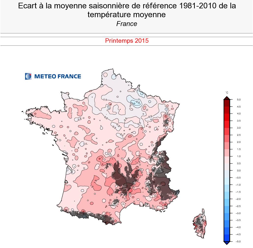 Image d'illustration pour Premier bilan du printemps 2015 : plutôt sec, doux et ensoleillé