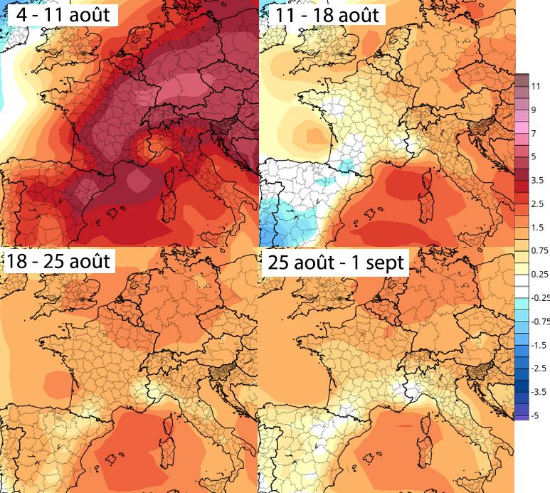 Image d'illustration pour Quel risque de nouvelle canicule d'ici la fin de l'été ?