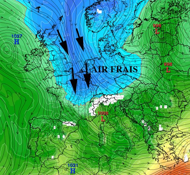 Image d'illustration pour Nuages et fraicheur : changement de temps en ce week-end de Pentecôte