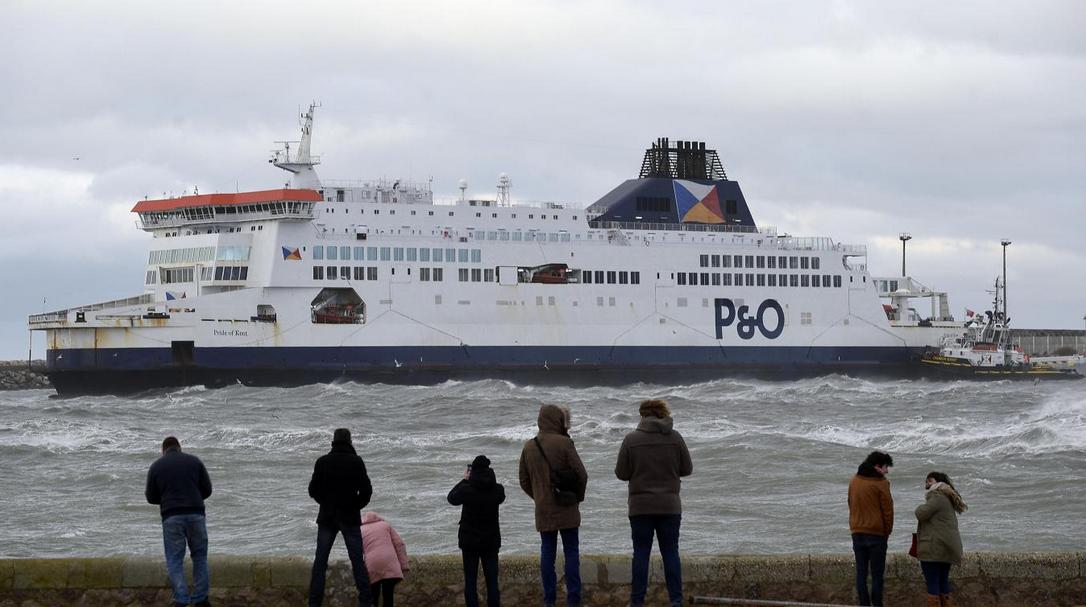 Image d'illustration pour La tempête Xanthos touche les côtes de la Manche