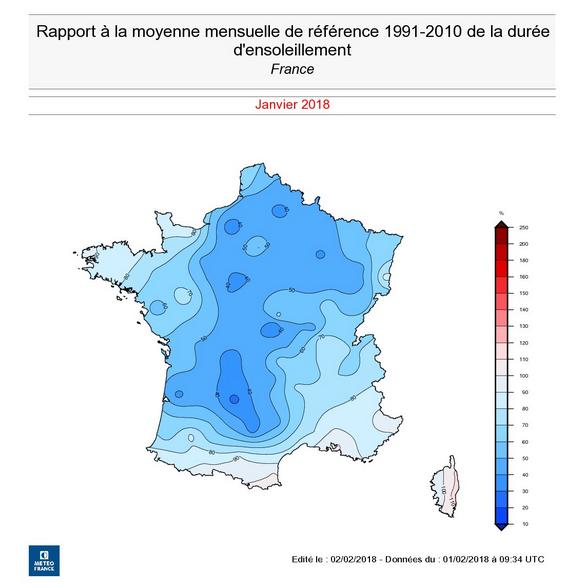Image d'illustration pour Janvier 2018 : le plus doux depuis plus d'un siècle en France