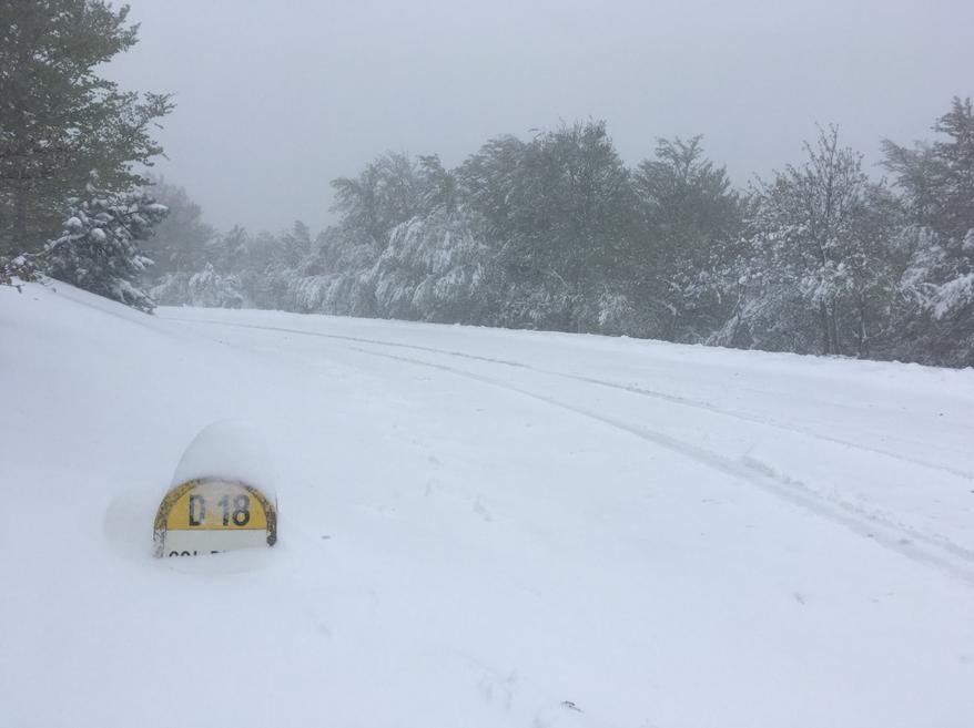 Image d'illustration pour Froid et neige tardive en montagne pour ce pont de l'Ascension