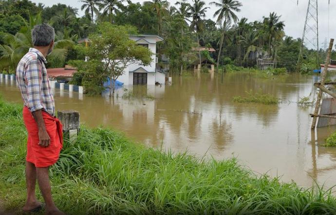 Image d'illustration pour Mousson d'été : inondations catastrophiques dans l'Etat indien du Kerala