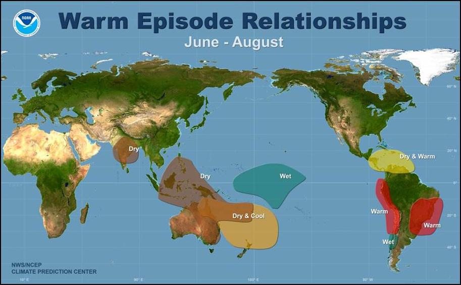 Image d'illustration pour Démarrage d'un nouvel épisode El Niño