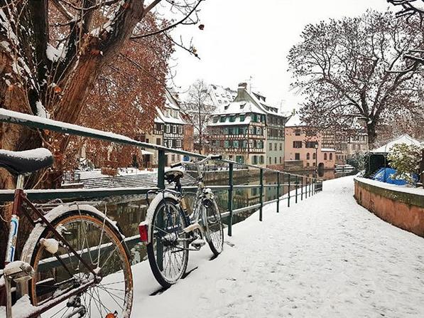 Image d'illustration pour Froid, neige, verglas : une petite offensive hivernale