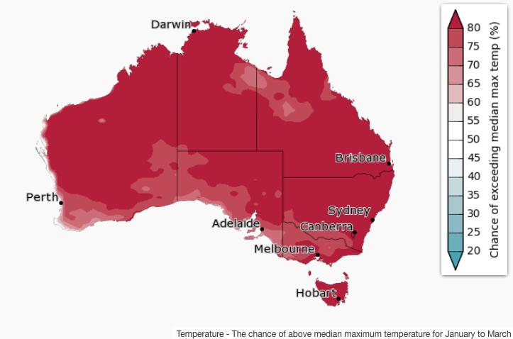 Image d'illustration pour Canicule extrême en Australie : près de 50°C !