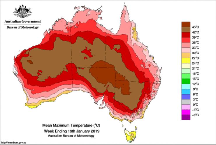 Image d'illustration pour L'Australie en proie à une canicule historique