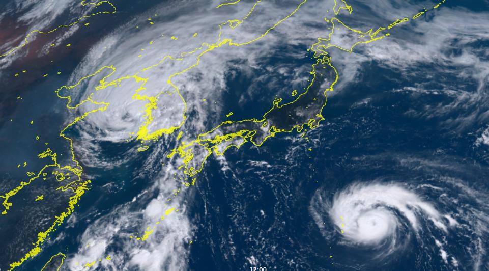 Image d'illustration pour Lingling & Faxai : l'activité cyclonique également active dans le Pacifique
