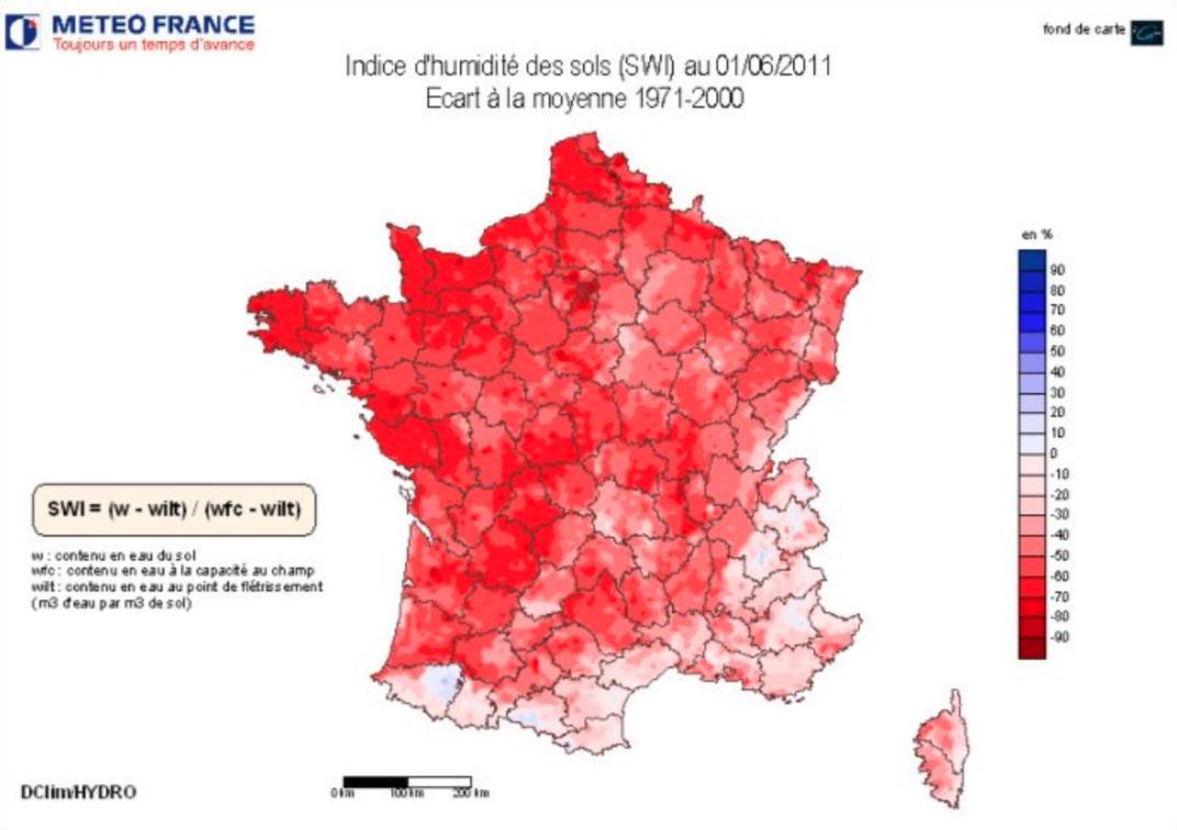 Image d'illustration pour Sécheresses remarquables en France : les antécédents