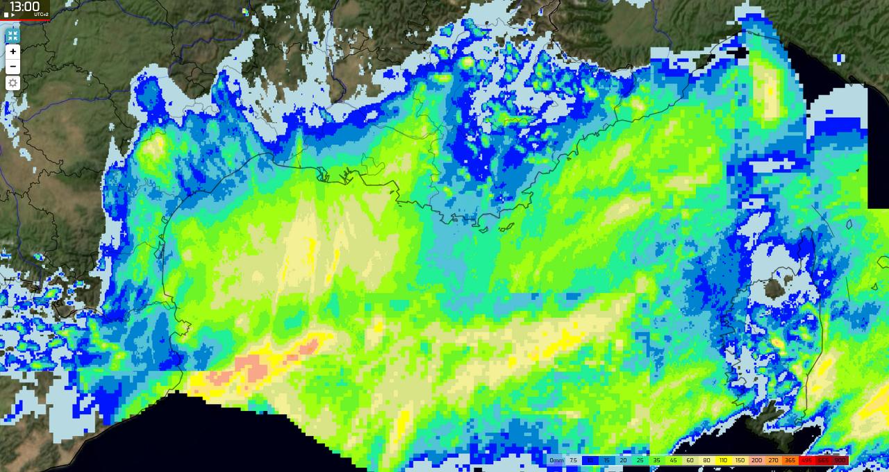 Image d'illustration pour Pluies et orages : premier épisode Méditerranéen de la saison ce week-end