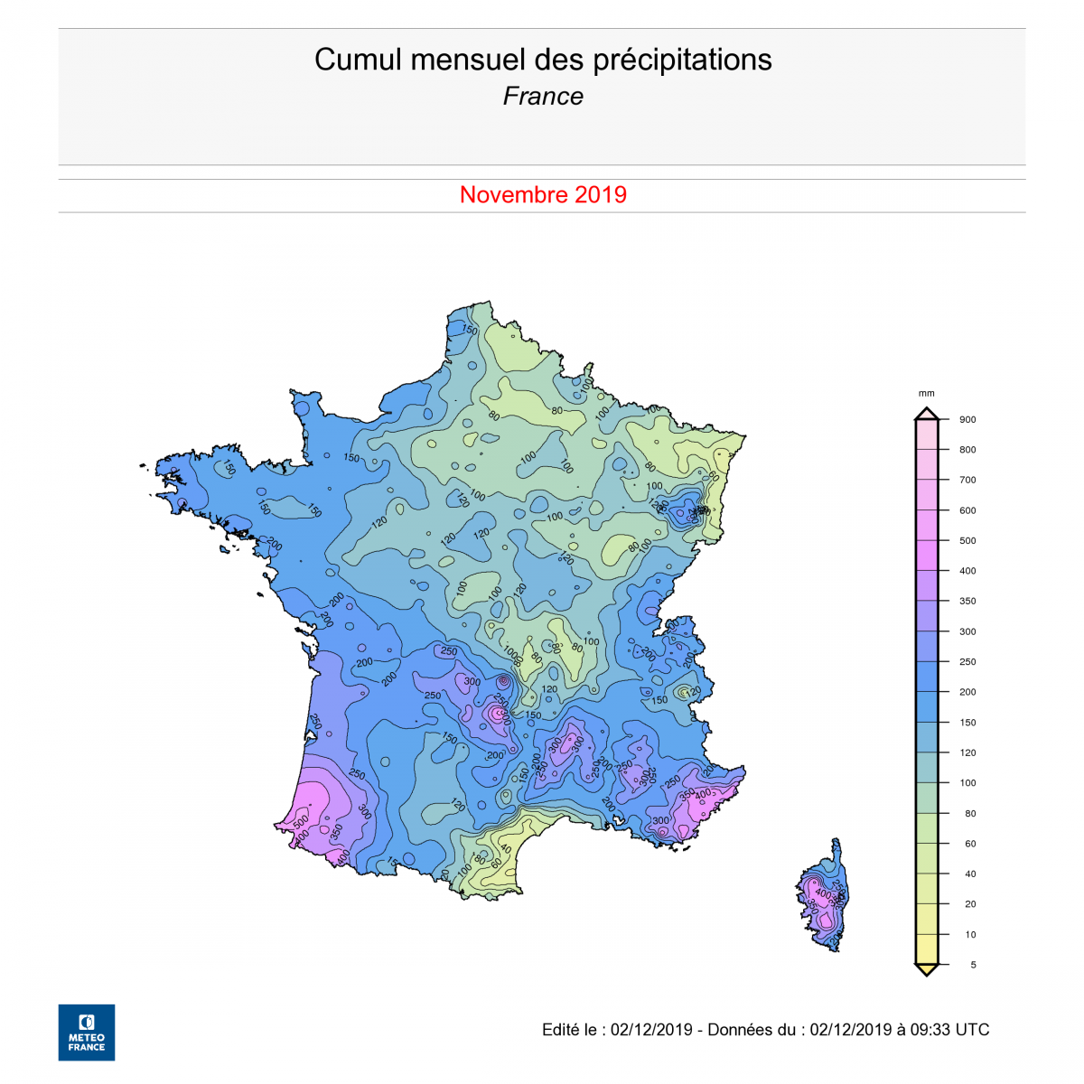 Image d'illustration pour Vers un risque d'inondations sur une grande partie du pays?