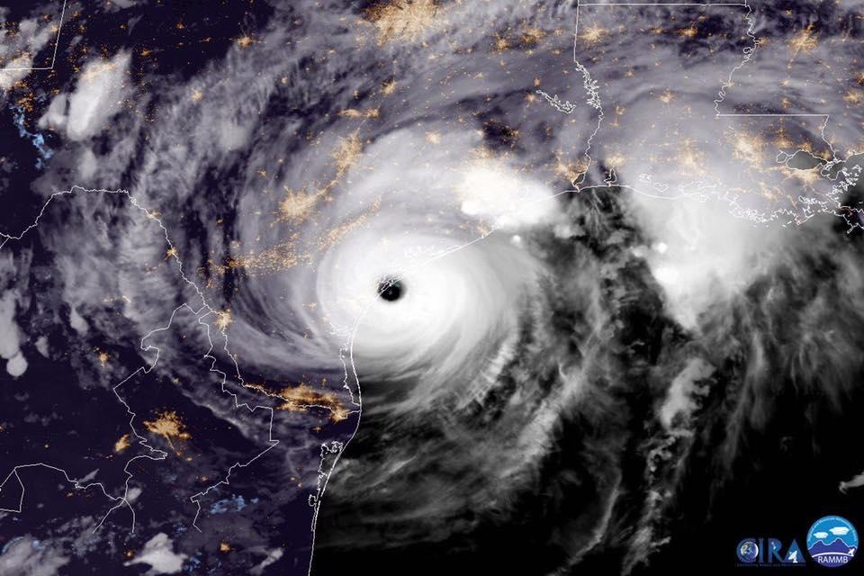 Image d'illustration pour Cyclone Harvey aux Etats-Unis : inondations catastrophiques