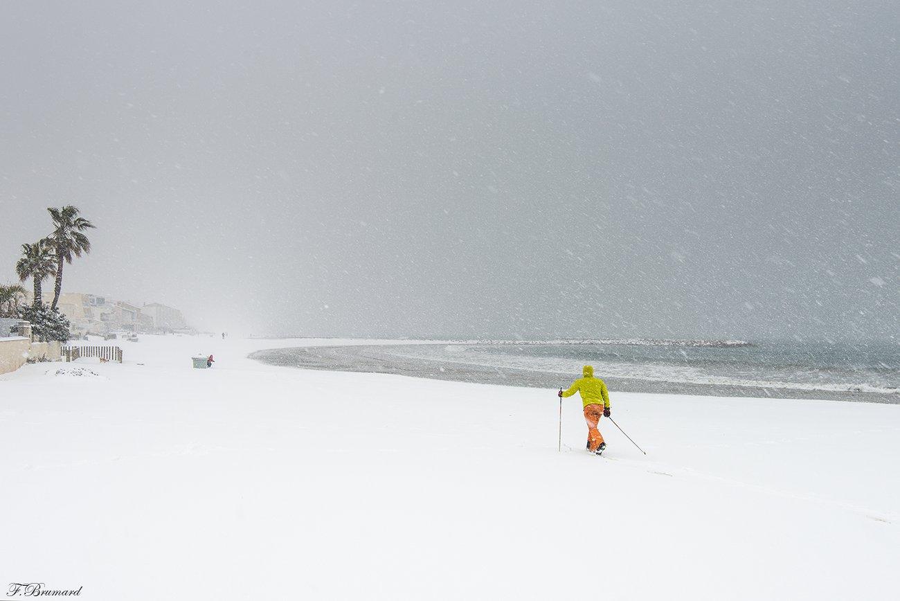 Image d'illustration pour Retour de la neige annonçant la fin de la vague de froid