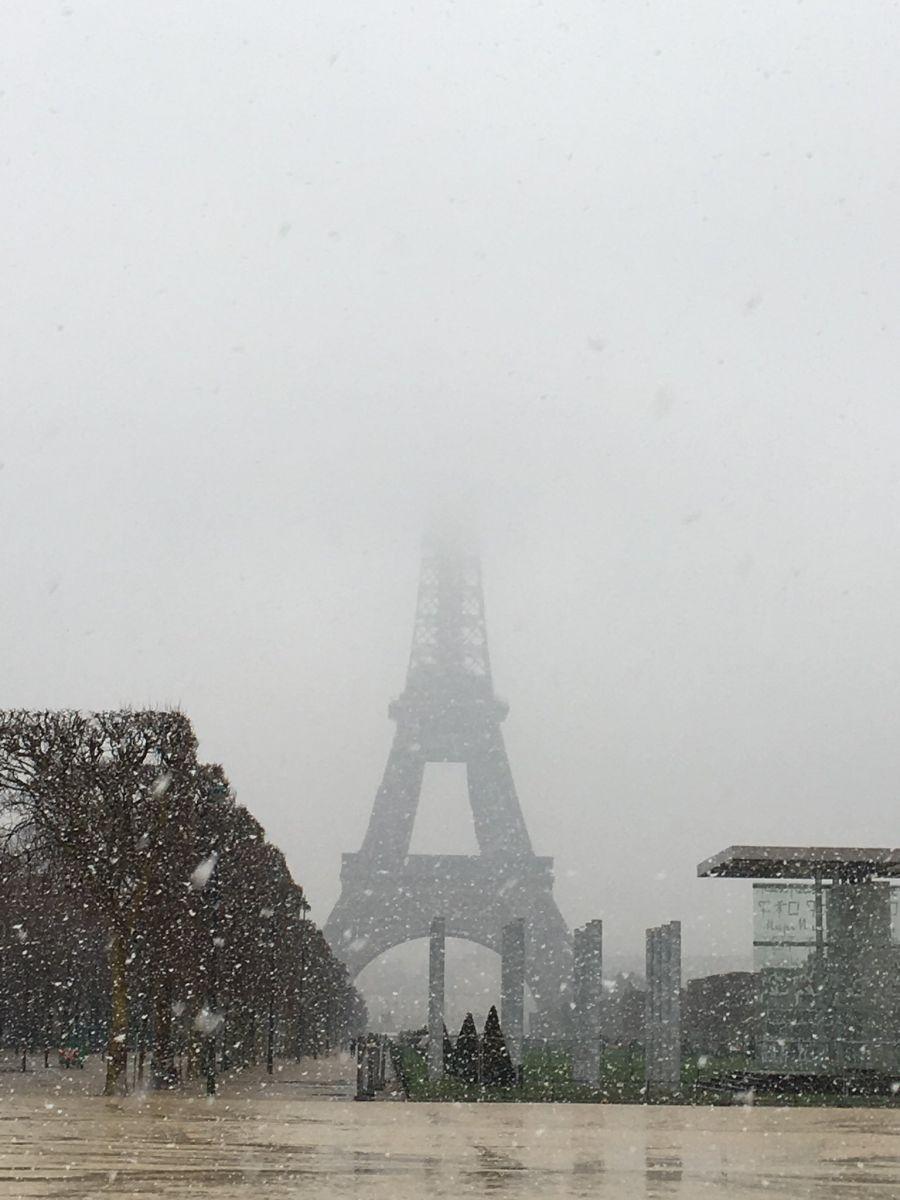 Image d'illustration pour Episode de neige imprévu en Ile-de-France : quelques explications