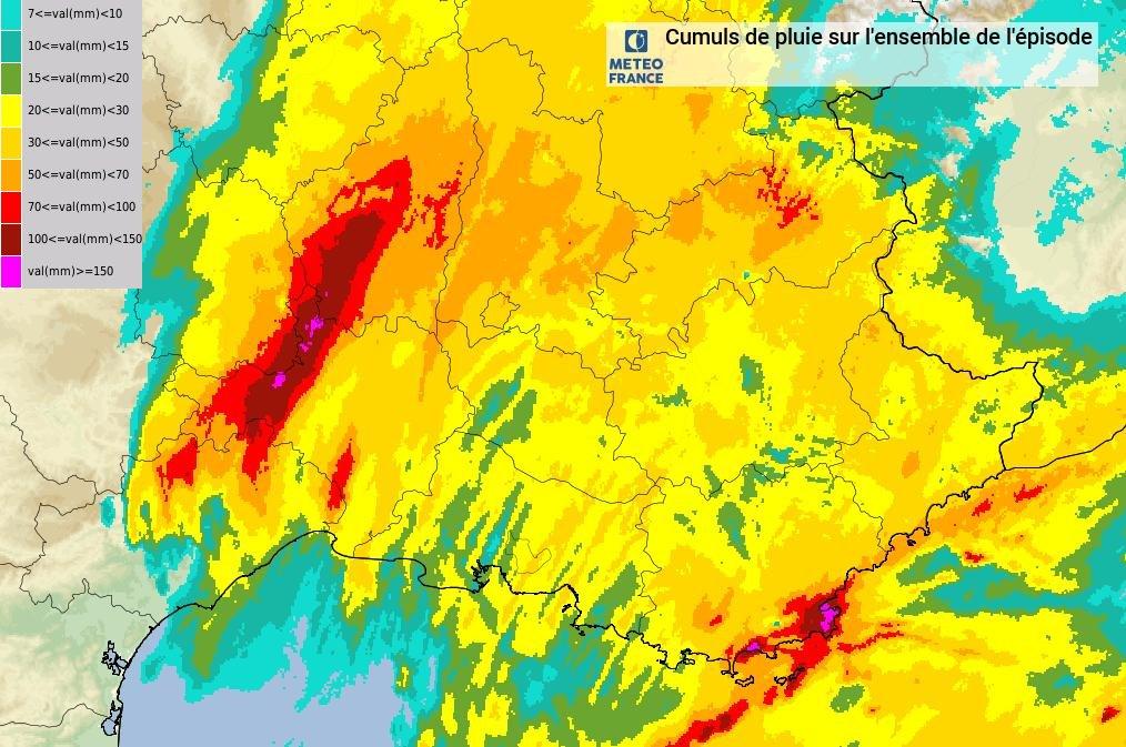 Image d'illustration pour Vigilance orage et inondations près de la Méditerranée
