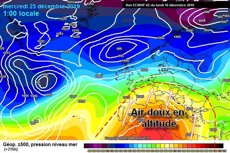 Image d'illustration pour Y'a-t-il un risque de froid et de neige pour la période de Noël ?