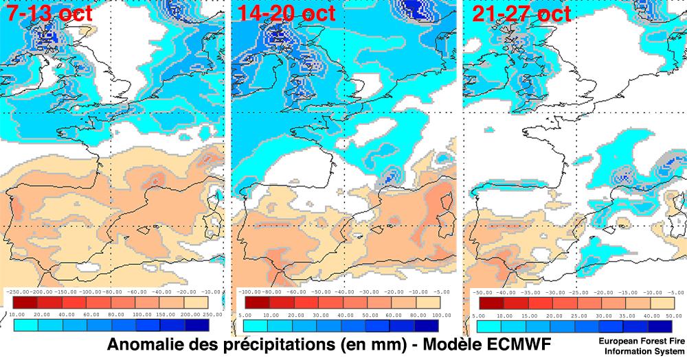 Image d'illustration pour Régions Méditerranéennes : enfin des pluies pour la 2e moitié d'octobre ?