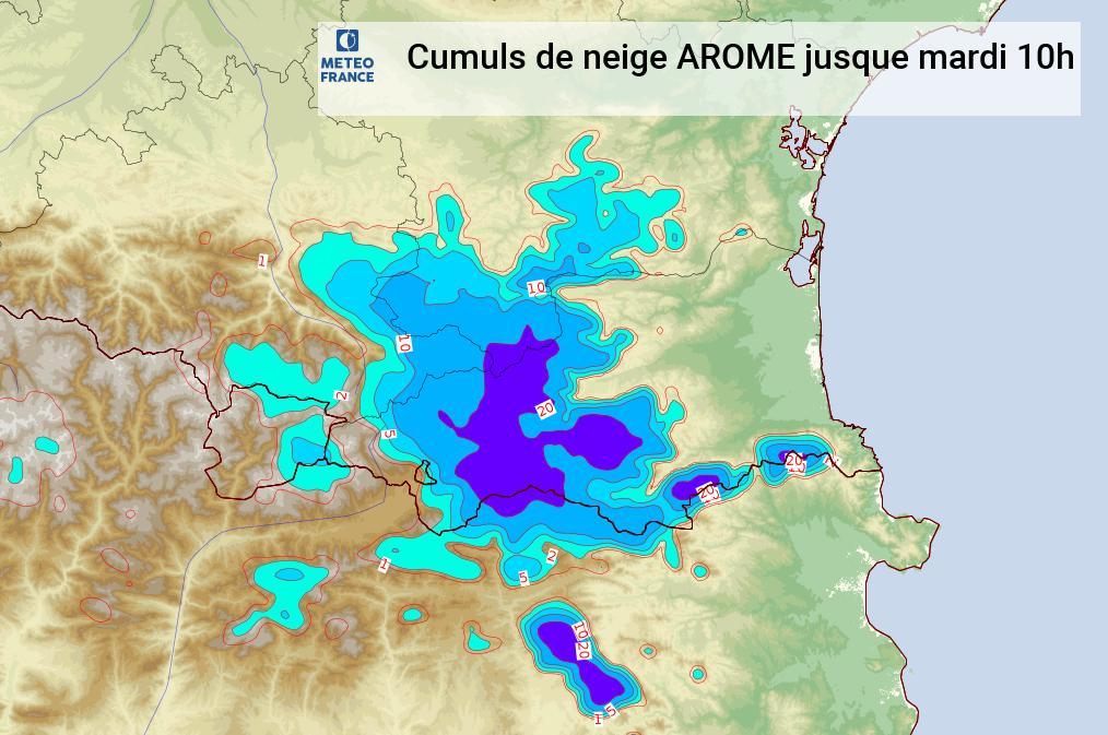 Image d'illustration pour Episode méditerranéen (Aiguat) à surveiller en Roussillon!