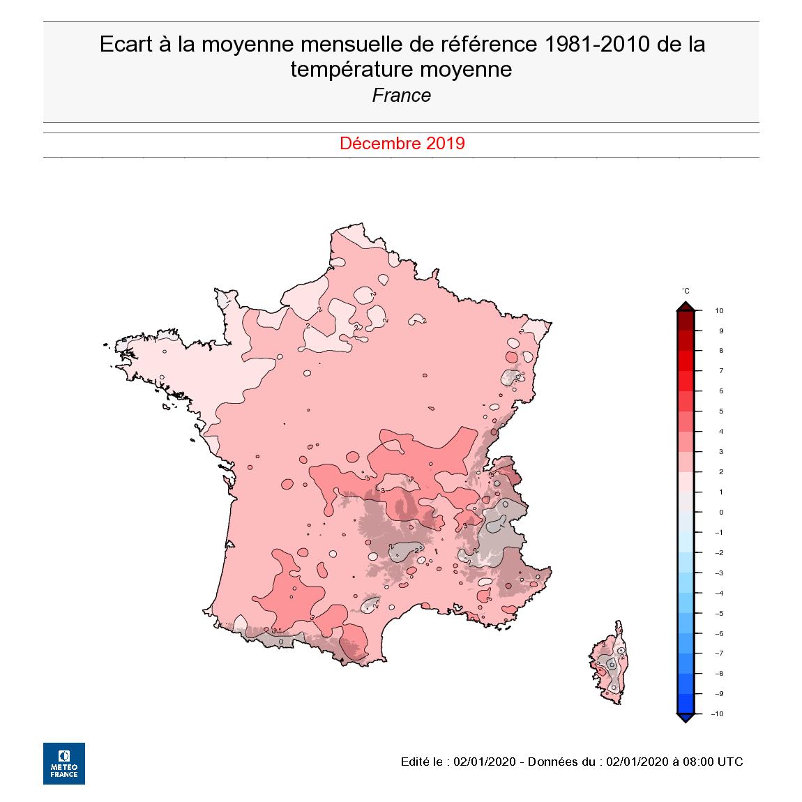 Image d'illustration pour Douceur - Un hiver doux persistant sur la France ?