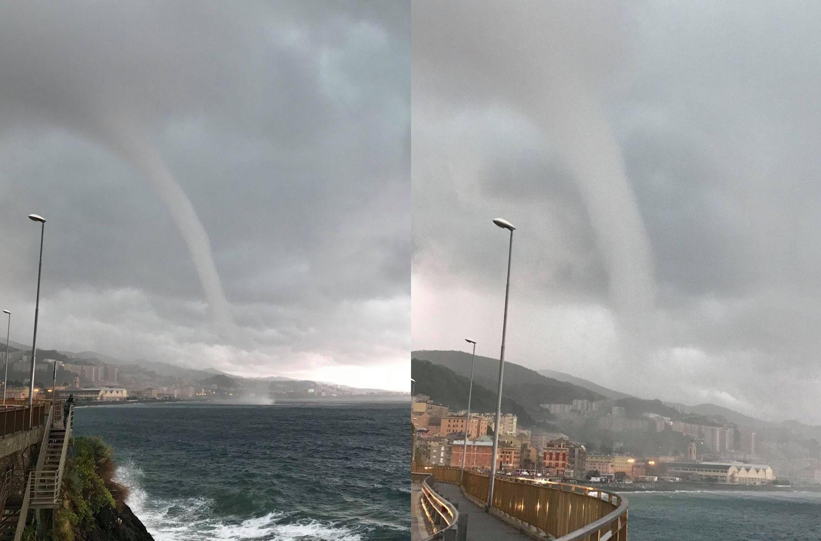 Image d'illustration pour Pourquoi y a-t-il autant de trombes marines près de Gênes ?