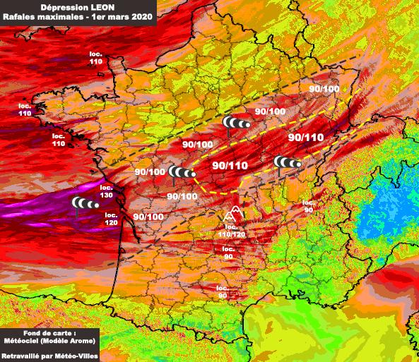 Image d'illustration pour Encore un risque de tempête pour ce dimanche 1er mars !