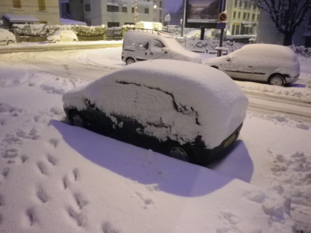 Image d'illustration pour Vague de froid et neige précoces fin novembre 2010