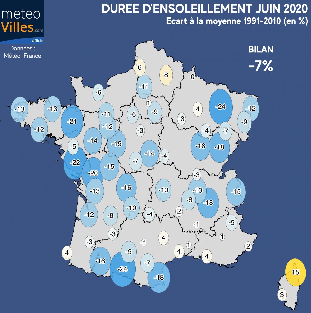 Image d'illustration pour Juin 2020 : un mois maussade humide, et localement frais