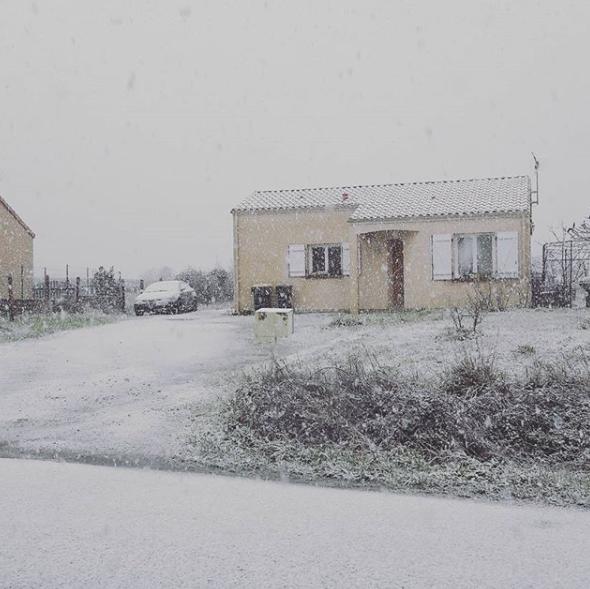 Image d'illustration pour Nouveau risque de neige en plaine ce mardi