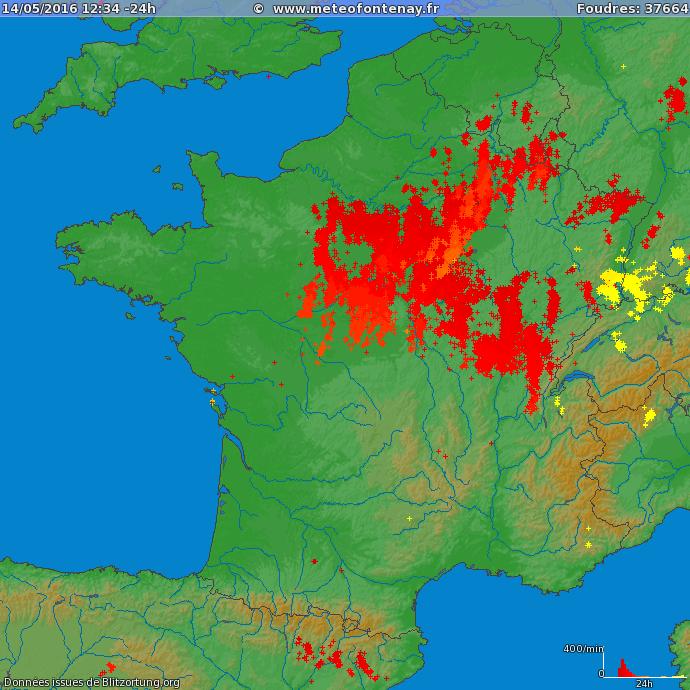 Image d'illustration pour Grêle et inondations : bilan des orages de vendredi