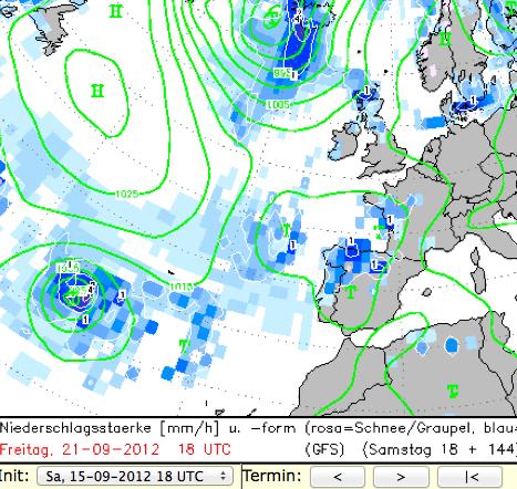 Image d'illustration pour Le cyclone Nadine arrive sur les Açores et perturbe les prévisions météo en Europe