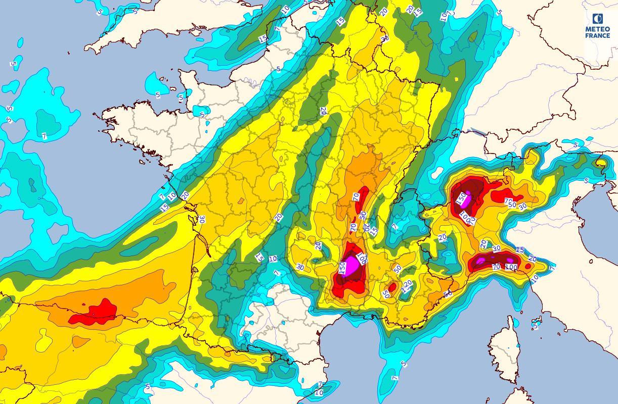 Image d'illustration pour Vers un temps très agité en Méditerranée ces prochains jours
