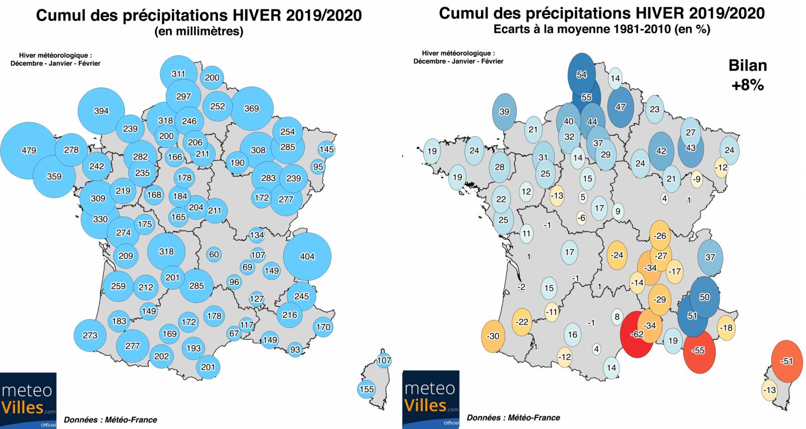 carte sécheresse france 2020 Une sécheresse est elle possible sur la France cet été ?   06 mars