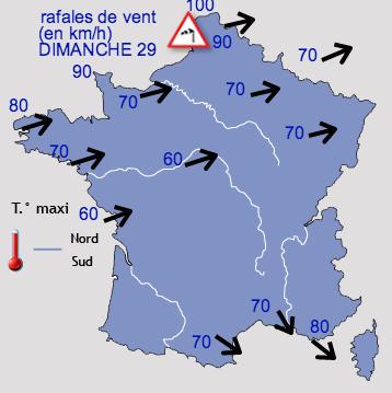 Image d'illustration pour Dimanche très venteux sur le Nord-Pas-de-Calais