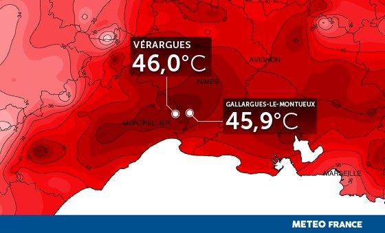 Image d'illustration pour 46.0°C : homologation d'un nouveau record national de chaleur