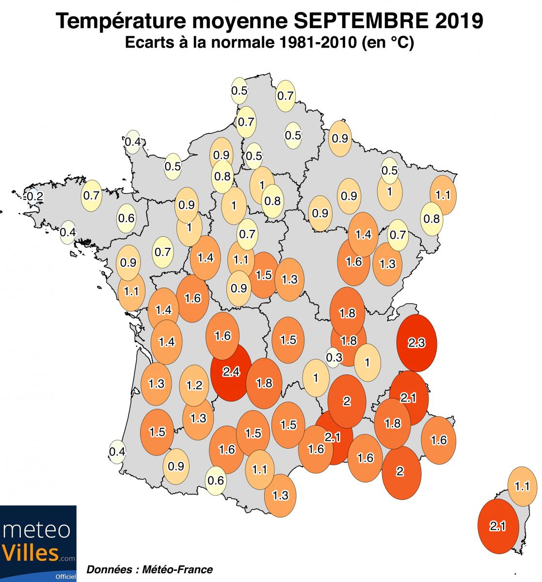 Image d'illustration pour Sec et estival : le bilan du mois de septembre