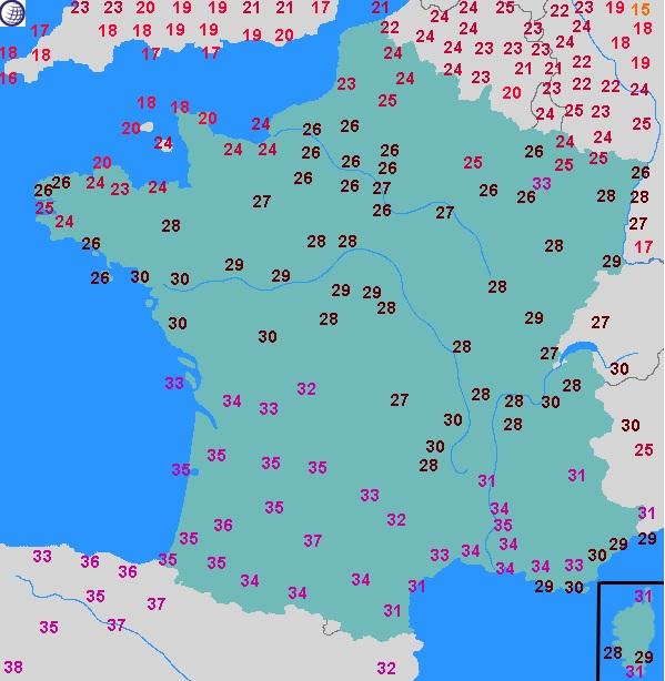 Image d'illustration pour Coup de chaud dans le Sud-ouest mercredi : 37°C à Toulouse