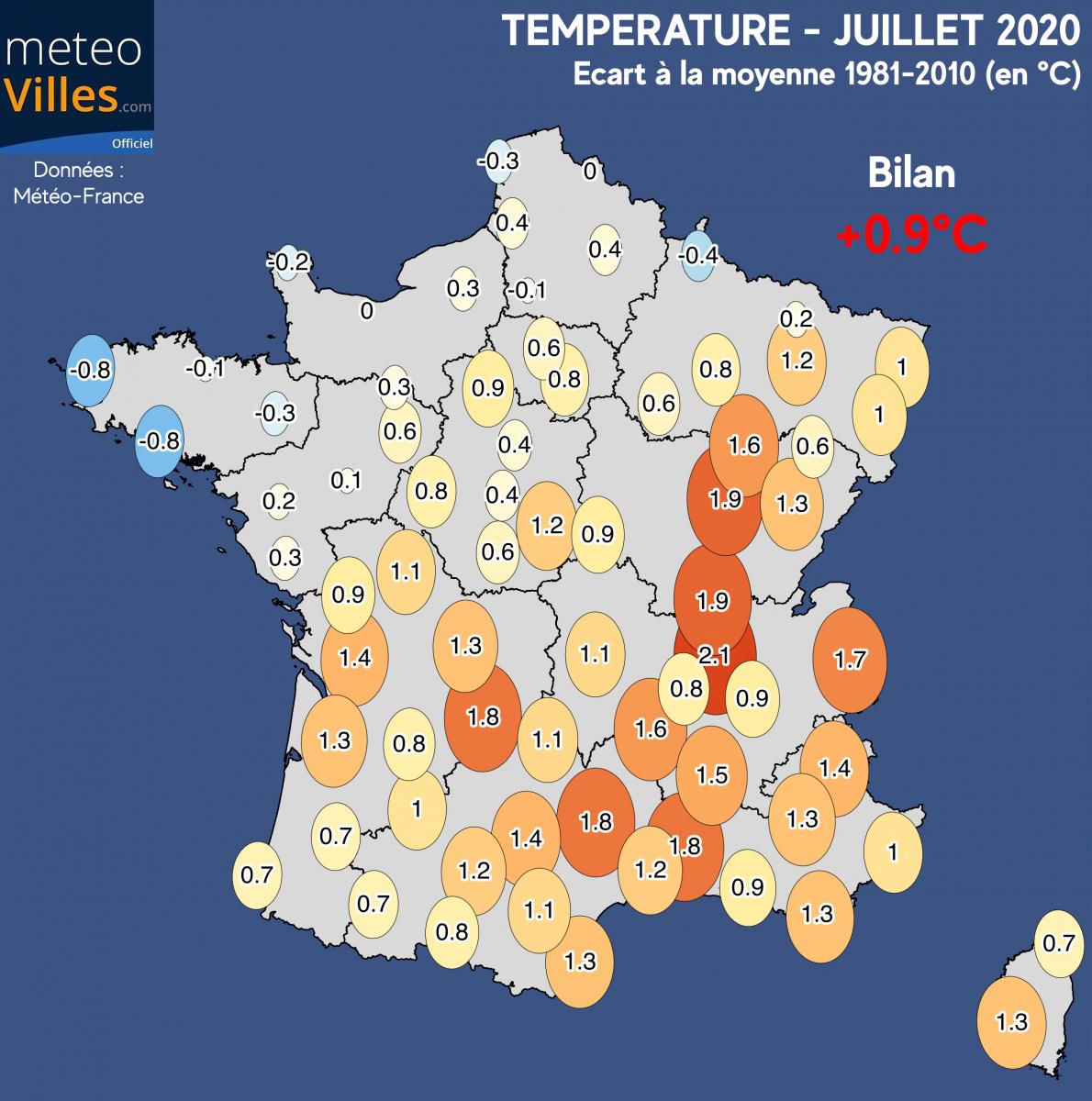 Image d'illustration pour Juillet 2020 : une sécheresse exceptionnelle et de la chaleur