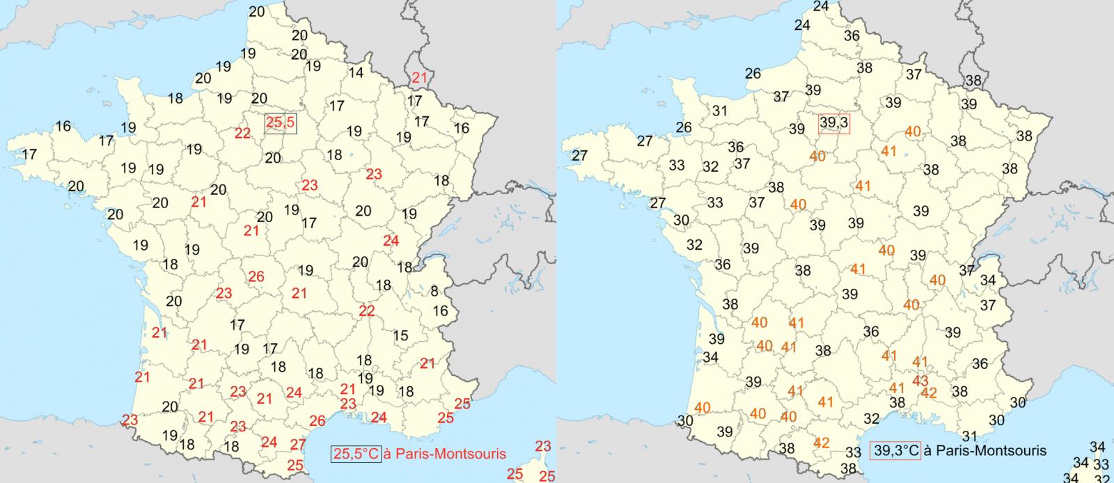 Image d'illustration pour Retour sur les canicules estivales marquantes en France