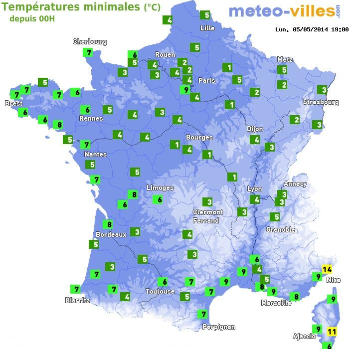 Image d'illustration pour Amplitude de la température : frais le matin, chaud l'après-midi