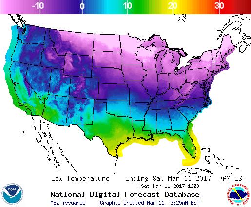 Image d'illustration pour Vague de froid tardive au Canada et Etats-Unis