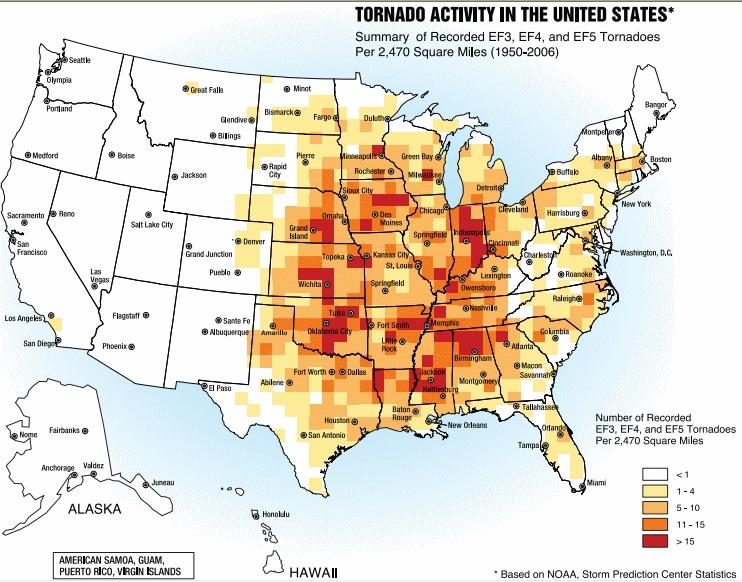 Image d'illustration pour Tornades meurtrières aux Etats-Unis ce week-end